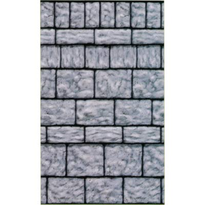 SCENE SETTER WALL DISPLAY - STONE WALL