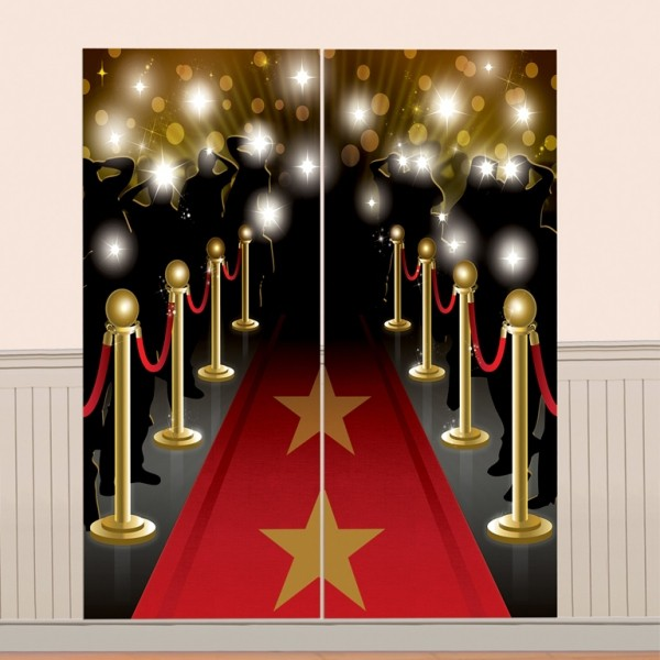 SCENE SETTER - HOLLYWOOD PAPARAZZI PHOTO PROP WALL DECORATION