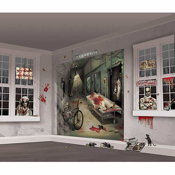 SCENE SETTER - ASYLUM WALL DECORATING KIT