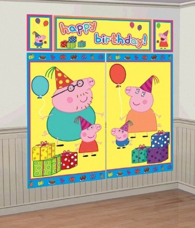 PEPPA PIG SCENE SETTER WALL DECORATION KIT