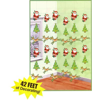 CHRISTMAS STRINGS PACK OF 6