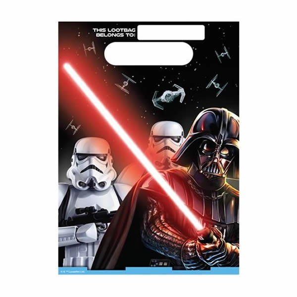 STAR WARS CLASSIC LOOT BAGS - PACK OF 8