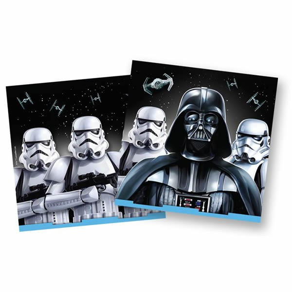 STAR WARS CLASSIC LUNCH NAPKINS - PACK OF 16