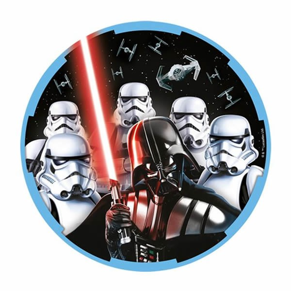 STAR WARS CLASSIC LUNCH PLATES - PACK OF 8