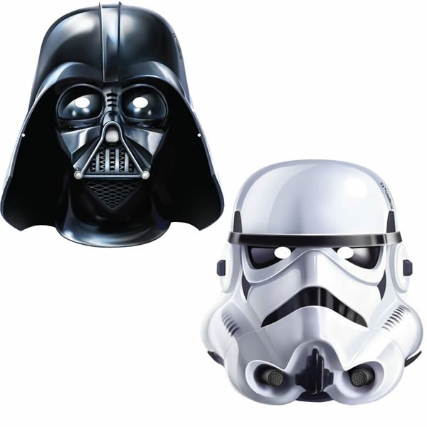STAR WARS CLASSIC MASKS - PACK OF 8