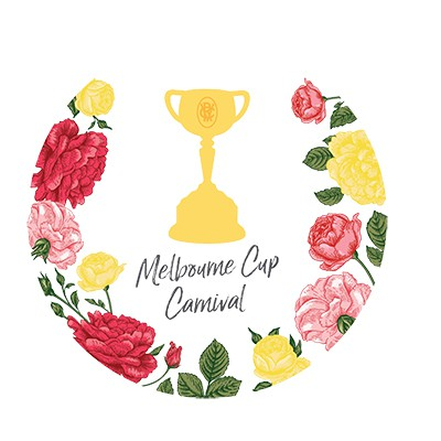 MELBOURNE CUP CARNIVAL CUT OUTS - PACK OF 6