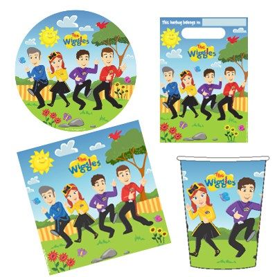 WIGGLES NEW GROUP PARTY PACK PACK OF 40