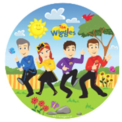 WIGGLES PLATES PACK OF 8