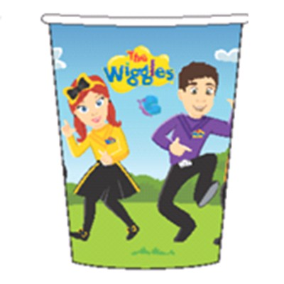 WIGGLES NEW DESIGN PARTY CUPS - PACK OF 8