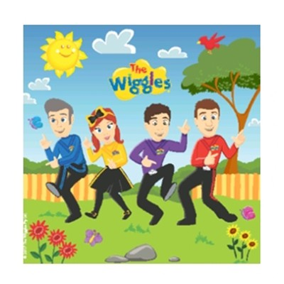 WIGGLES NAPKINS PACK OF 16