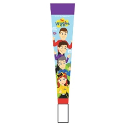 WIGGLES PARTY HORNS - PACK OF 8