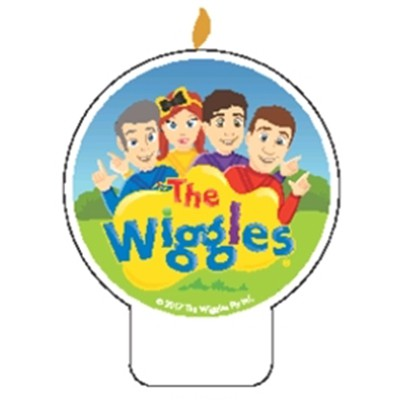 WIGGLES NEW GROUP PARTY CANDLE