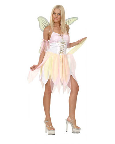 PINK FAIRY COSTUME FOR ADULTS - MEDIUM