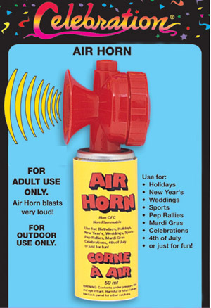 AIR HORN - OUTDOOR