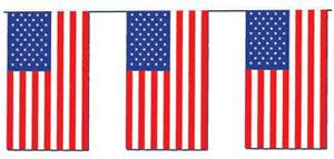 Image of American Flag Bunting 4m