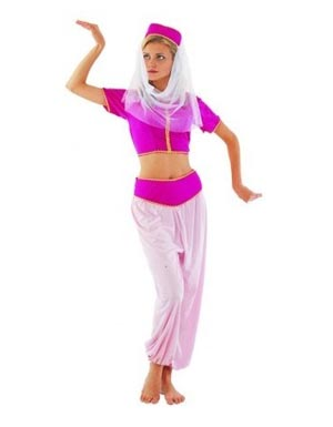 ARABIAN PRINCESS COSTUME PINK