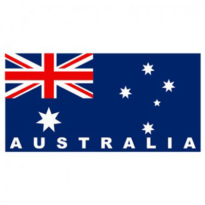 AUSSIE BEACH TOWEL - AUSTRALIAN FLAG