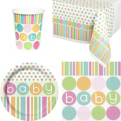 BABY PASTEL SHOWER PARTY PACK