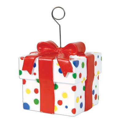 BALLOON WEIGHT - PRESENT/GIFT BOX