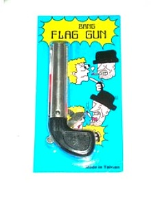 CLOWN BANG GUN SMALL WITH FLAG