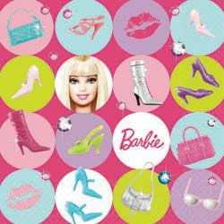 BARBIE NAPKINS - PACK OF 16