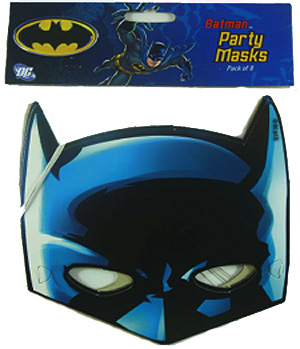 BATMAN PARTY MASKS PACK OF 8