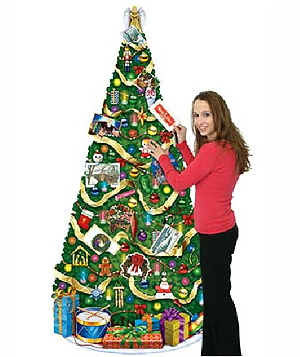 HUGE JOINTED CHRISTMAS TREE 182CM