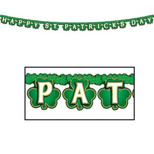 ST. PATRICKS DAY BANNER - JOINTED