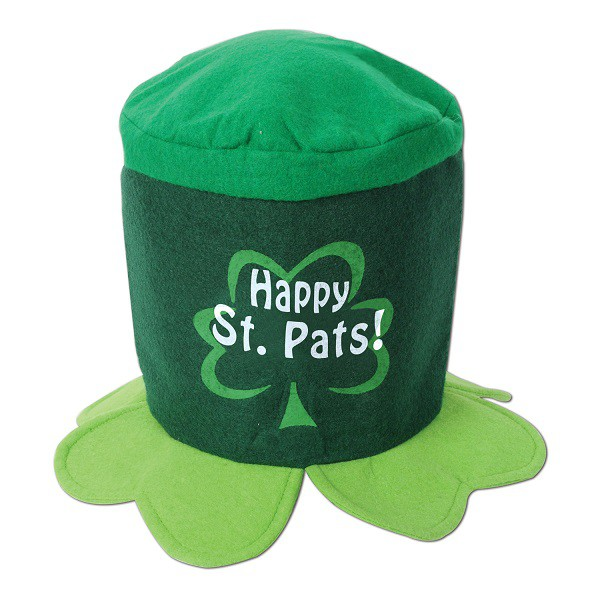 GREEN HAPPY ST PATS HAT