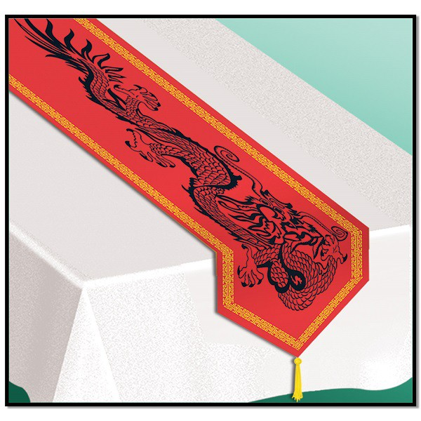CHINESE DESIGN TABLE RUNNER