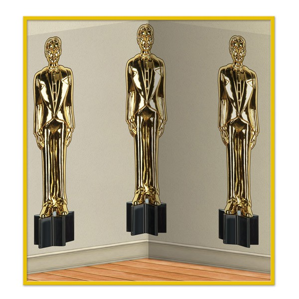 INSTA THEME - HOLLYWOOD AWARD NIGHT MALE STATUES