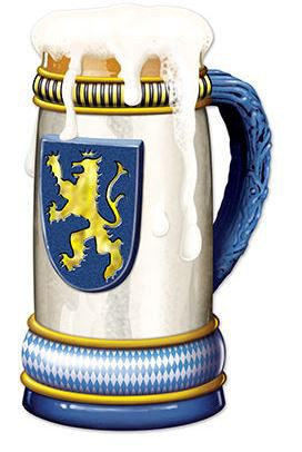OKTOBERFEST JUMBO BEER STEIN CUT OUT