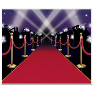 SCENE SETTER - INSTA THEME RED CARPET SCENE