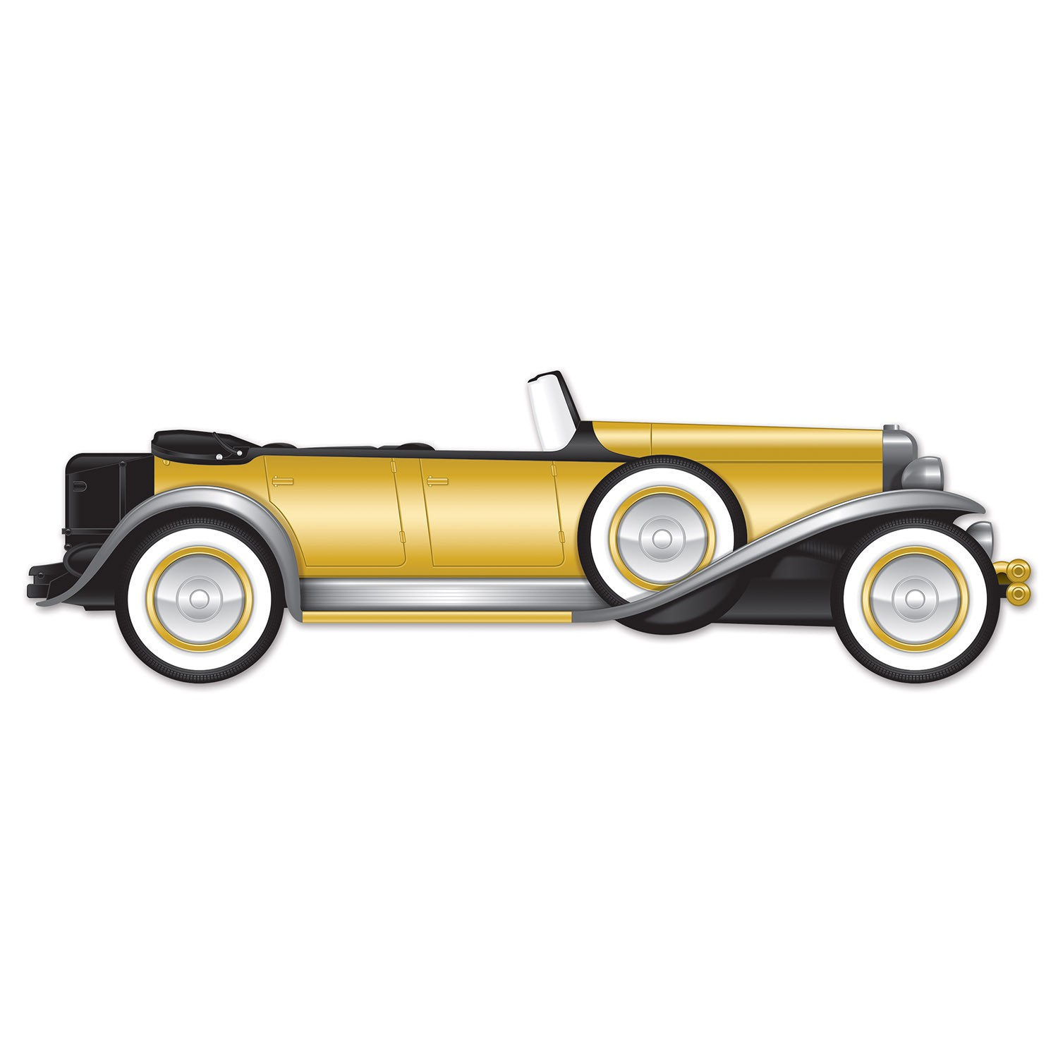 1920'S GREAT GATSBY STYLE GANGSTER JOINTED CAR PROP