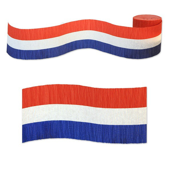 STREAMER - PATRIOTIC RED, WHITE & BLUE