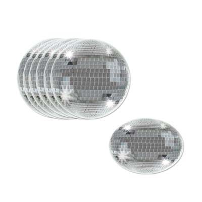 DISCO BALL COASTERS PACK OF 8