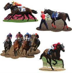 MELBOURNE CUP CUT-OUTS