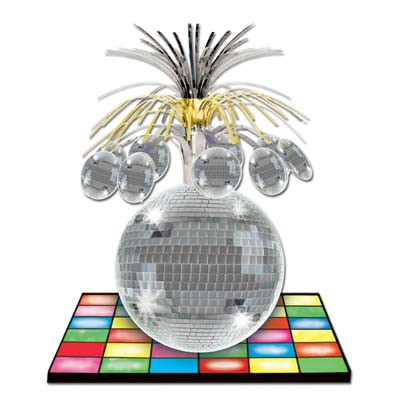DISCO PARTY CENTREPIECE