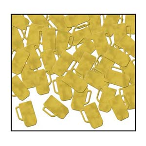 BEER MUG TABLE SCATTERS - GOLD