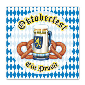 OKTOBERFEST LUNCH NAPKINS - PACK OF 16