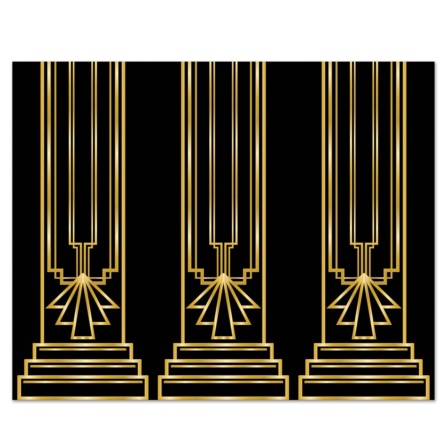 SCENE SETTER - 1920'S ART DECO GATSBY THEME WALL BACKDROP