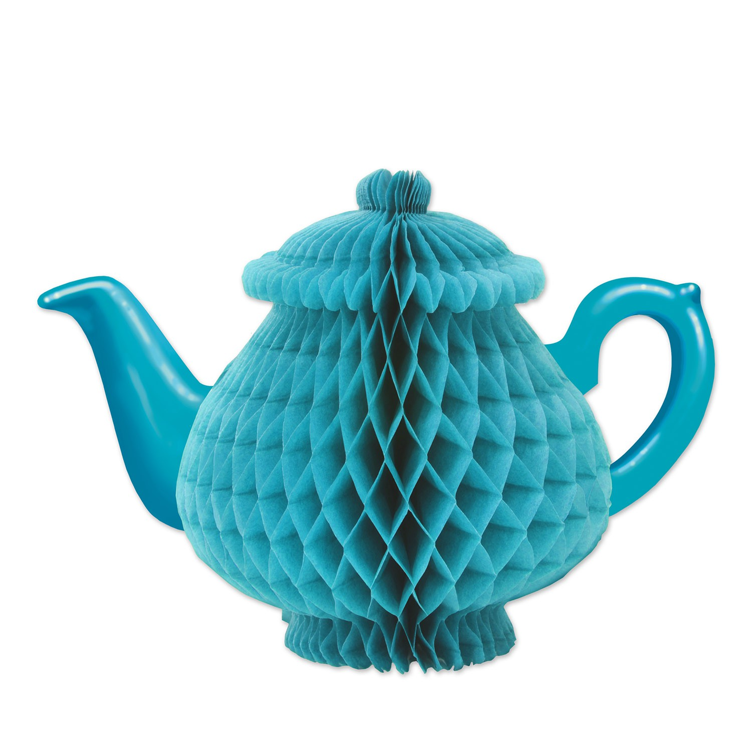 ALICE IN WONDERLAND STYLE TEAPOT HONEYCOMB CENTREPIECE