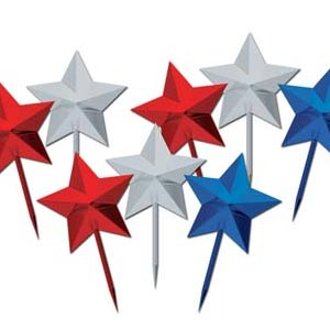PATRIOTIC STAR PICKS