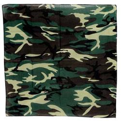 Image of Army Camouflage Bandana