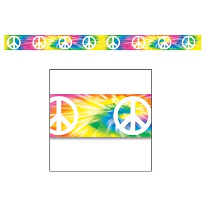 HIPPIE PEACE SIGN TAPE - 6M