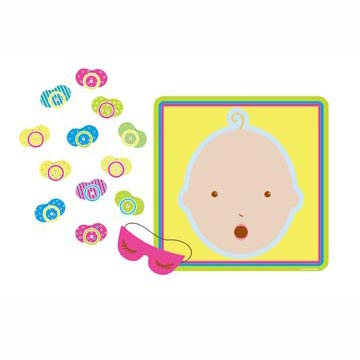 BABY SHOWER GAME - PIN THE PACIFIER