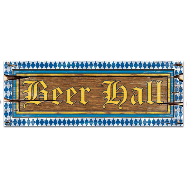 OKTOBERFEST BEER HALL SIGN