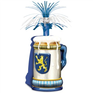 OKTOBERFEST TABLE CENTREPIECE BEER STEIN