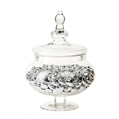 APOTHECARY JAR - BELLE GLASS CANISTER