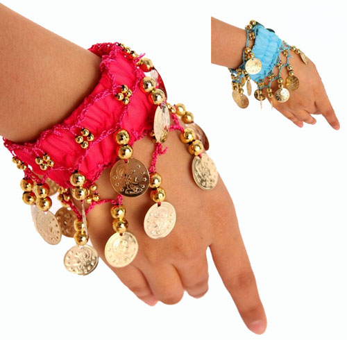 BOLLYWOOD/BELLY DANCER BRACELET SET OF 2